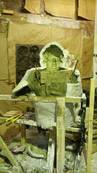 Формовка скульптуры