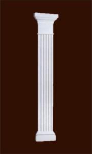 Прямоугольная пилястра с ионической капителью