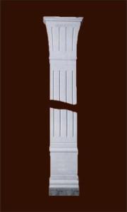 Прямоугольная пилястра, имитирующая египетскую колонну
