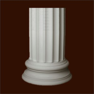 База колонны из гипса