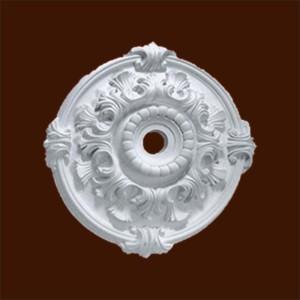 Декоративная розетка с орнаментом